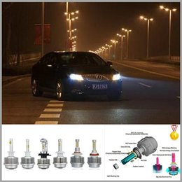 Wholesale High Brightness HB3 HB4 LED Headlight Smart Heatsink Design W Cree LED Car LED HB3 HB4 LED Headlights