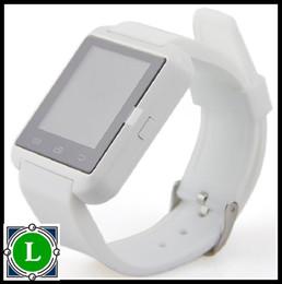 Nouvelle u8 bluetooth montre-bracelet à puce à vendre-10X U8 Hot Nouveau Bluetooth Smart Watch Wrist Wrap Watch Téléphone pour IOS Apple iPhone 5S / 6 / 6Plus Android Samsung E-BS