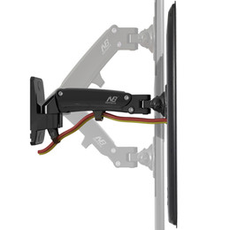 """30""""-40"""" NB F200 Gas Spring Full Motion LED LCD TV Wall Mount Retractable Rotation Monitor Holder Load Capacity 11~22lbs(5~10kgs)"""