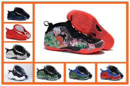 Wholesale 2016 newest One galaxy mens Basketball Shoes High Quality Sports Shoes Penny hardaway posite Sneakers Eur41