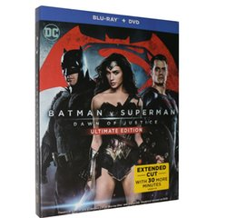 Wholesale Batman v Superman Dawn of Justice Blu ray BD DVD Disc Set US Version Boxset New