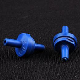 Wholesale 20 Plastic Non return Check Valves for Aquarium Air Pump CO2 Diffuser Air Line Tubing Connectors Airline Valve