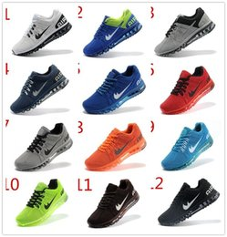 Wholesale 2016 Men s Running Shoes Fashion Men Sports Sneakers Material Training Athletic Walking Sneakers Size Eur