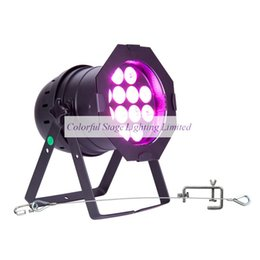 Free shipping 6 Lights High quality 12x18W RGBAW UV 6in1 COMPLETE LED PAR 64 Cans PAR Light with Flight case