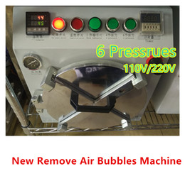 Wholesale New Complete Removal LCD Air Bubble Machine OCA Autoclave Bubbling Repair Tools For iPhone Plus Samsung HTC SONY Universal