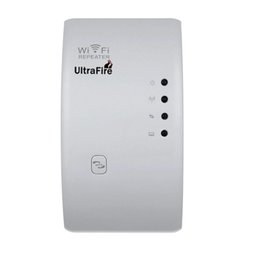 Ultrafire Wireless-N Wi-Fi Repeater 802.11N network router extended coverage Ultrafire300M American plug White