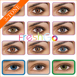 Wholesale by DHL need working days Freshgo color contact lenses big size eye lenses