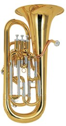 Wholesale High Grade Bb Tone Piston Euphonium Compensating system with ABS case shipping time8 days Musical Instrument