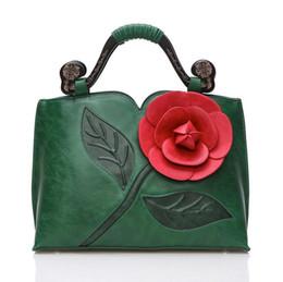 Luxury handbags Women bags designer famous brands 2016 messenger bag Fashion Totes 3D Rose Flower bags shoulder bag vintage