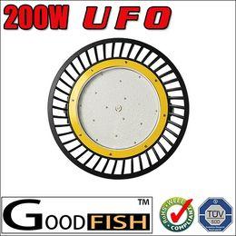 High lumens 200W UFO LED High Bay Light Industrial Lamp 90-305V 22000LM IP65 waterproof Mining Lamp 200W