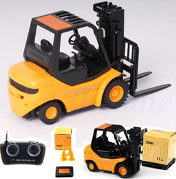 Wholesale RC Forklift Radio Remote Control Controlled Truck Car Lifting Arm RC Crane Toy