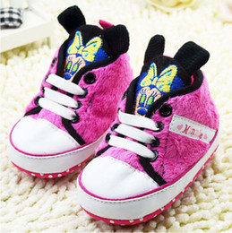 Baby first walkers shoes baby sport shoes cotton shoes cartoon bear shoes color pink size 11-13cm 2016 kids shoes children shoes.2110