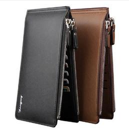 Baellerry long leather business wallet famous brand credit card wallet big capacity men's wallet fashion men's purse phone