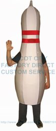Wholesale BOWLING PIN mascot costume for cheap sale adult size cartoon sport bowling pin theme anime cosply costumes carnival fancy