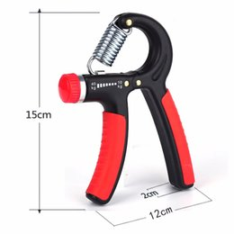 Wholesale itness Equipments Hand Grips Men s Functional Training Equipment Hand Grip Strengthener Adjustable Hand Exerciser Resistance K