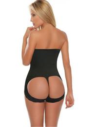 Wholesale Women Seamless Hot Butt Lift Booster Booty Lifter Panty High Waist Tummy Control Shaper Enhancer Body Shaperwear shapers black beige M XL