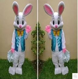 2016 new professional Easter bunny mascot cartoon clothing adult rabbit cartoon mascot costume fancy dress free shipping