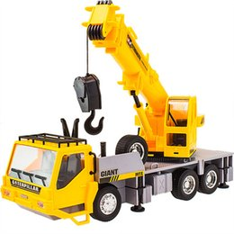 Wholesale Kids Toy CH Wireless Remote Controlled Chargeable RC Engineering Vehicles RC Crane Truck