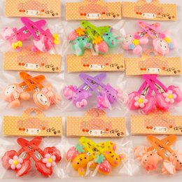 Wholesale Random mix style Gold Fashion Children bow BB Hair Clips Hair Clips Barrettes New top quality HJ007