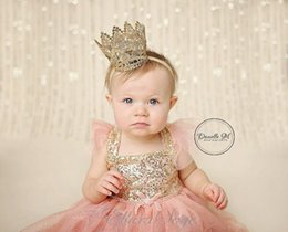 Blush Flower Girl Dress, Coral Pink and Gold sequin Dress,Baby Girl Party Dress, Pink Sparkle Princess Dress
