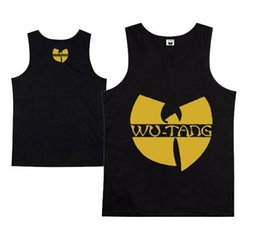 Top quality wutang men's sportwear tank top 2016 new arrival muscle hiphop men vest summer tank top free shipping