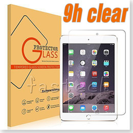 iPAD Tempered Glass Screen Protector For Ipad 2 3 4 Ipad mini Ipad Air Film Tablet Screen Protector 9H 0.3MM Tempered Glass Retail Package