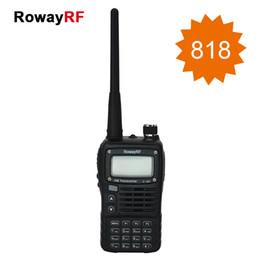 Wholesale RowayRF SMP Clarigo Motorola Portable CB Radio Walkie Talkie LED Flash FM Radio Receiver Intercom High Capacity Battery Alarm Ham Radio