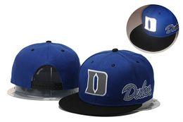 Wholesale Duke Blue Devils Basketball Caps Snapback College Football Hats Adjustable Cap New Style Cheap Duke Hat