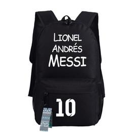 Free shipping Barcelo messi backpack kids backpacks school bags for teenage boys girls barcelo souvenir travel bags
