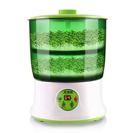 Wholesale Bean sprouts machine automatic household multi functional intelligent large capacity double sprout machine