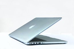 Wholesale for Macbook retina inch pc clear hard crystal Shell Cases laptop bag colors hot sale