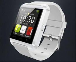 Smartwatch U8 U Watch Smart Watch Wrist Watches for iPhone 4 4S 5 5S Samsung S4 S5 Note 2 Note 3 HTC Android Phone Smartpho OTH014 2016