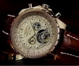 Wholesale breitling new Watches Men Bentley Mechanical Hand Wind Men s Wrist Watches Military Army Watch