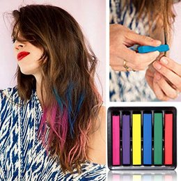 Wholesale Beauty Convenient Temporary Super Hair Dye Colorful Chalk Hair Color Alcohol Free chalks for the hair giz pastel G J6