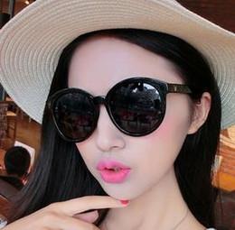 2016 fille chat cru 2016 Cat Eye Vintage Lunettes de soleil Femmes Top Girls Mode Summer Retro Round Lunettes de soleil Cat Eye Gafas Oculos Shades Casual fille chat cru à vendre