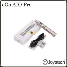 Promotion start kit ego Authentic Joyetech eGo AIO Démarrer Kit Pro eGo AIO Pro C Kit eGo AIO Pro XL (eGo AIO D22 XL) Kit 100% Original