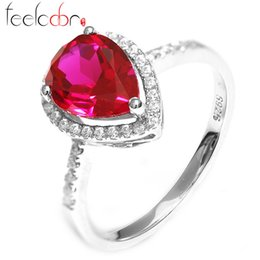 2.5 ct 2014 Brand New Ruby 925 Sterling Silver Fashion Retro Luxury Crystal Mosaic Decoration For Women