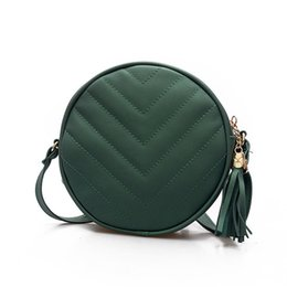 Women Leather Handbags 2017 New Messenger Small Round Bag Shoulder Fashion Cell Phone Bag Designer Handbags High Quality Bolsa