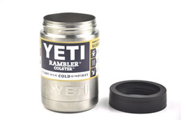 Wholesale Hot Sale OZ Yeti Vacuum Insulated Rambler Colster Insulated Cup Yeti Mug Drink Holder Insulated Koozie yeti Stainless Steel