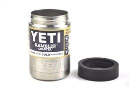 Wholesale Hot Sale OZ Yeti Vacuum Insulated Rambler Colster Insulated Cup Yeti Mug Drink Holder Insulated Koozie yeti Stainless Steel