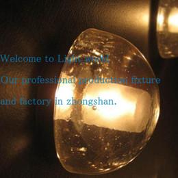Wholesale American brief magic ball crystal wall lamp led w meteor shower stair lamp aisle bedroom passageway hotel engineering fixture