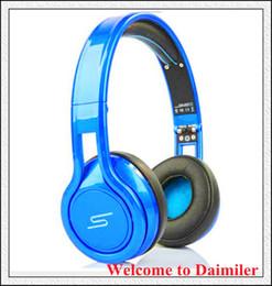 Wholesale Top Cent Noise Cancel Headphone Gaming Bike Frame Headset DJ Apple Iphone Earphone Headphone cent SMS Audio STREET Over Ear Headphone