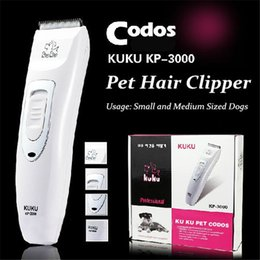 Wholesale Professional Pet Trimmer Scissors Dog Cattle Rabbits Shaver Horse Grooming Electric Hair Clipper Cutting Machine Codos KP3000