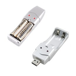 New Brand USB Charger for NiMH AA   AAA Rechargeable Battery High Quality