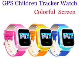 DHL fast new Children GPS Smart Watch Wristwatch SOS Call Location Finder Locator Device Tracker for Kid Safe Anti Lost Monitor Q60 PK Q50