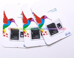 Wholesale DHL Free Adata128 GB Class Micro SD TF Memory Card MicroSDHC Card with Free Adapter Retail Package for Samsung Galaxy S5 S7