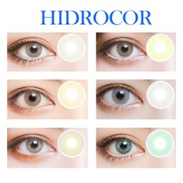 Wholesale New Arrival Hidrocor Contact Lenses Big Eye Colored Contacts Cheap Eye Contacts Blue Contact Lenses