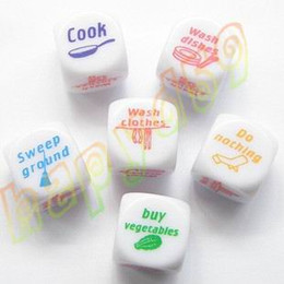 home game dicehome game dice couple toys adult game dice housework dice creative gift party