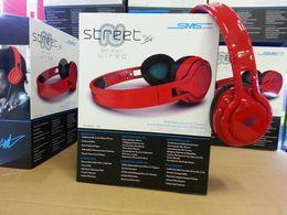 Rue sms via un casque d'oreille à vendre-SMS Audio STREET 50 Cent Noise Cancel Casque DJ Casque Casque Casque Casque Casque Pour Iphone smartphone MP3