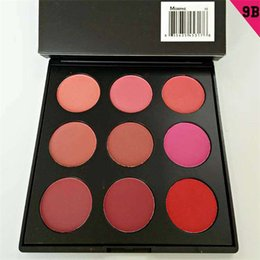 Wholesale MORPHE BRUSHES blush palette colors top quality morphe blush NATURALLY BLUSHED PALETTE high quality